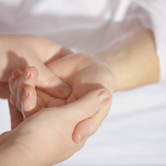 Handmassage im Tagungshaus