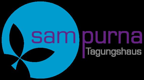 Tagungshaus Logo mit Sampurna Schriftzug